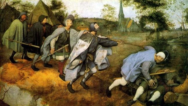 Bruegel the Elder, The Blind Leading the Blind, Museo di Capodimonte, Naples. 1568